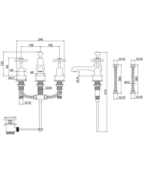 Technical drawing 8270 / CLR12