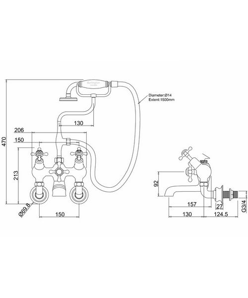 Technical drawing 8279 / CLR21