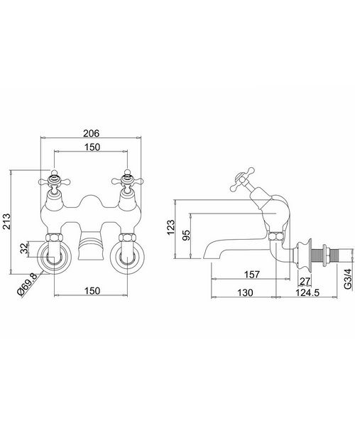 Technical drawing 8282 / CLR26