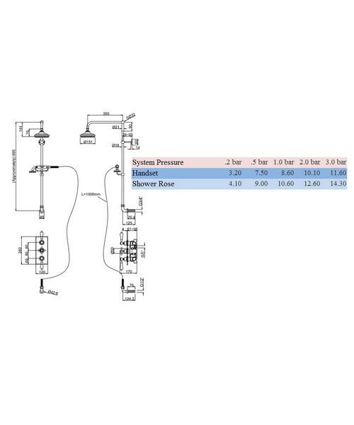 Technical drawing 8321 / H64-CL