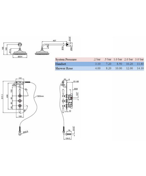 Technical drawing 8323 / H67-CL