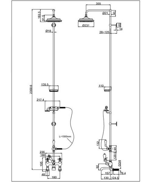 Technical drawing 8333 / T9