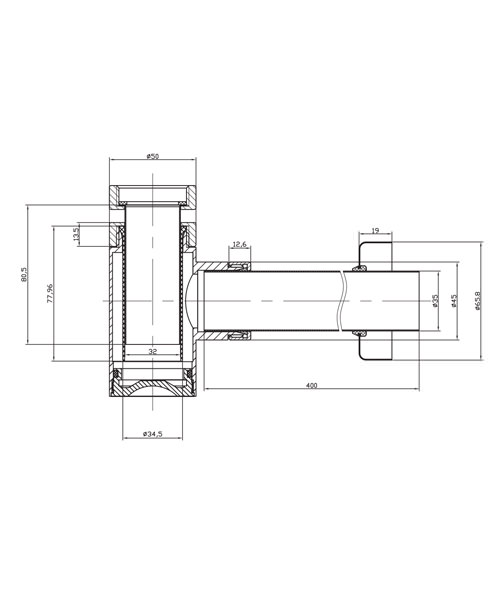 Technical drawing 8578 / BTR0401C