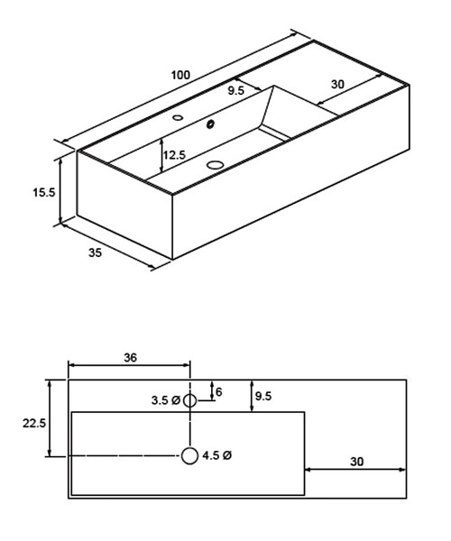 Technical drawing 8597 / EL0003SRW