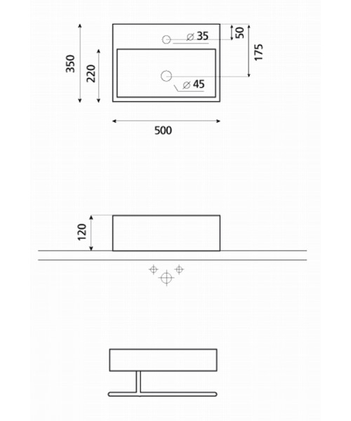 Technical drawing 8612 / WM0017BSCW