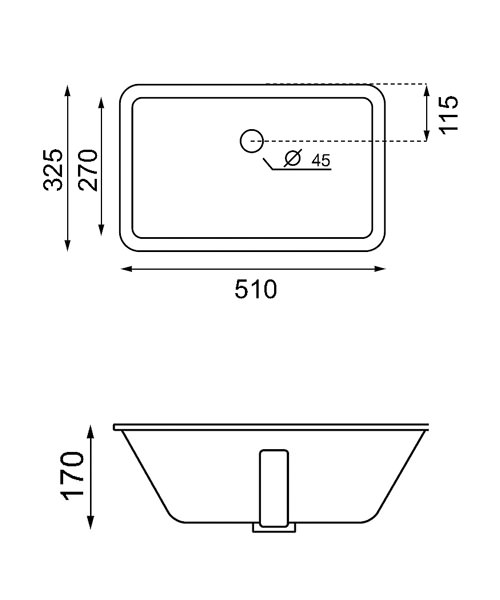 Technical drawing 8637 / UM0051BSCW