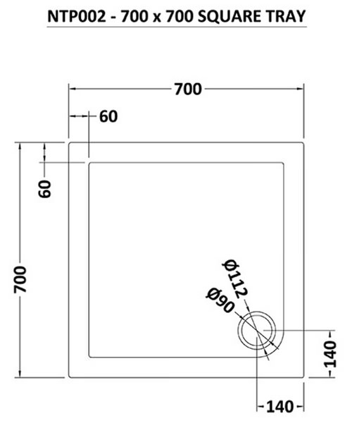 Technical drawing 8859 / NTP002