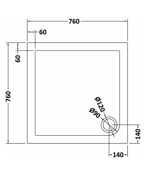 Technical drawing 8860 / NTP003