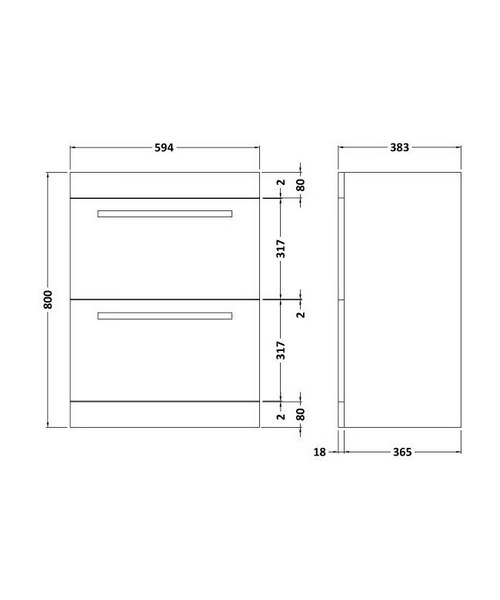 Technical drawing 8957 / BEO-2050
