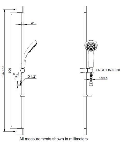 Technical drawing 9347 / SK983C