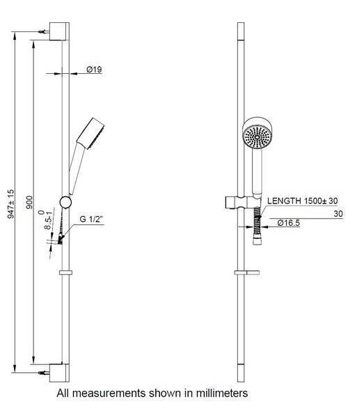 Technical drawing 9349 / SK985C