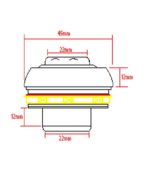 Technical drawing 9375 / RB752C