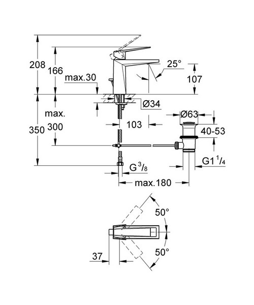 Technical drawing 9403 / 23029000