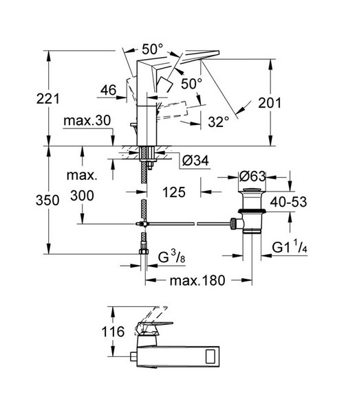 Technical drawing 9405 / 23109000