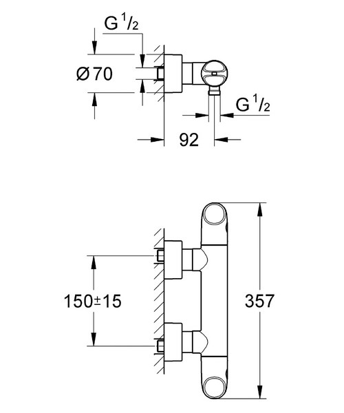 Technical drawing 9443 / 34330000