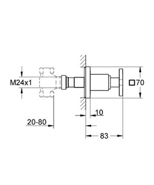 Technical drawing 9470 / 19334000