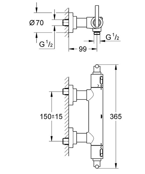 Technical drawing 9506 / 34011000
