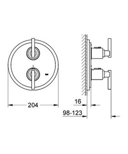 Technical drawing 9507 / 19399000