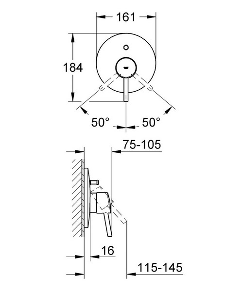 Technical drawing 9530 / 19346001