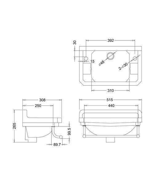 Technical drawing 9659 / B8
