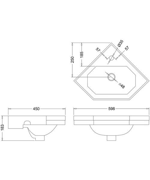 Technical drawing 9665 / B10