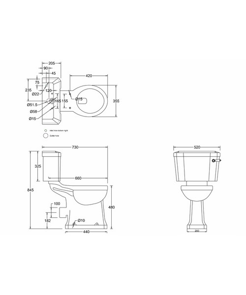Technical drawing 9722 / P12