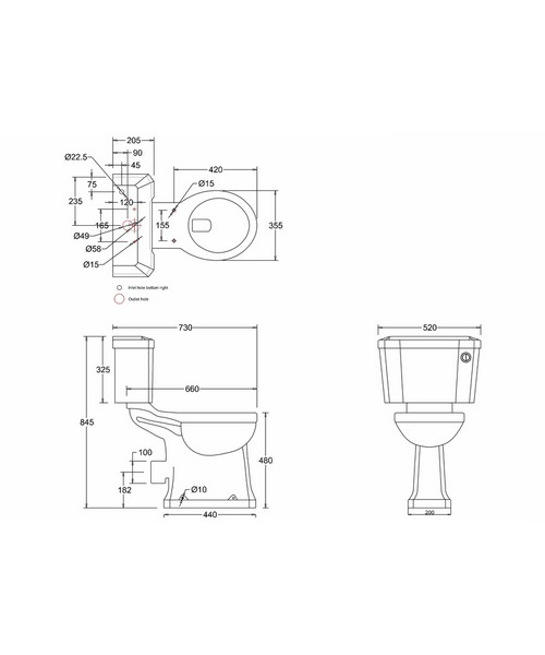 Technical drawing 9723 / P12