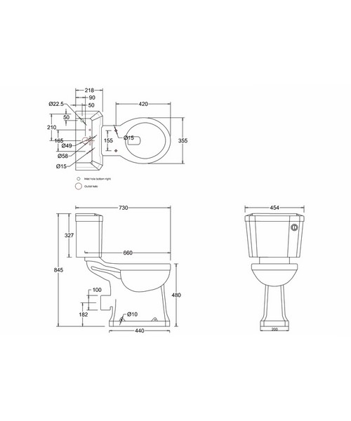 Technical drawing 9725 / P12