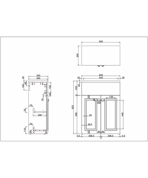 Technical drawing 9732 / F2M