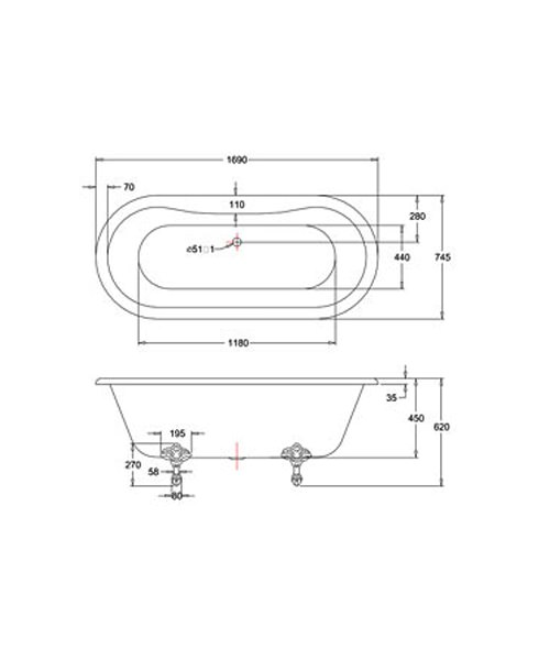 Technical drawing 9752 / E3