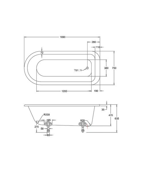 Technical drawing 9753 / E2