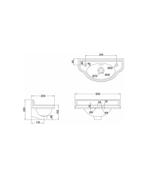 Technical drawing 9762 / P13