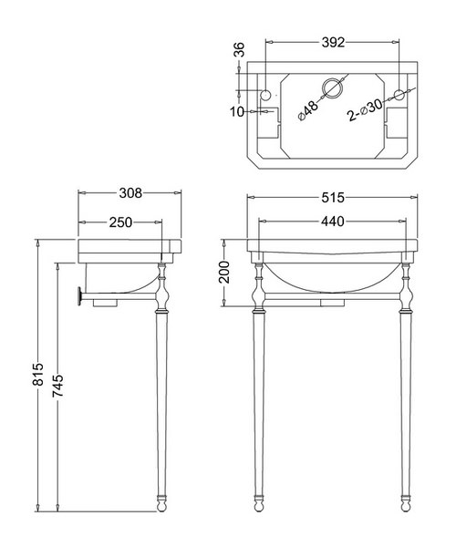Technical drawing 9763 / B8