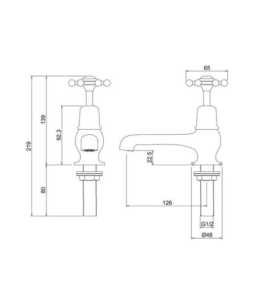 Technical drawing 9765 / BI2