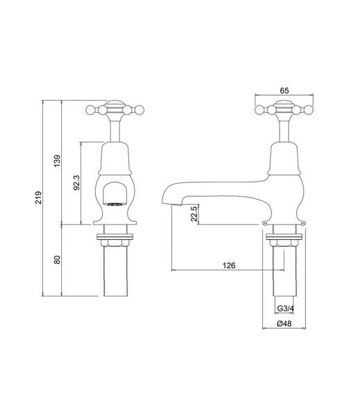 Technical drawing 9771 / BI3