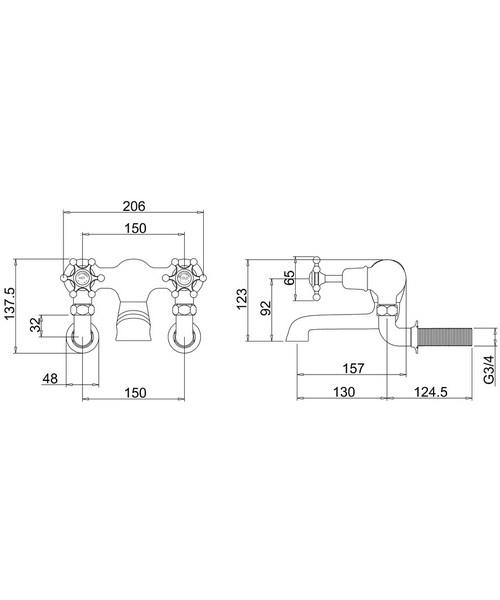Technical drawing 9774 / BI24