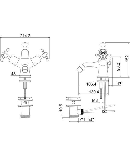 Technical drawing 9780 / BI13