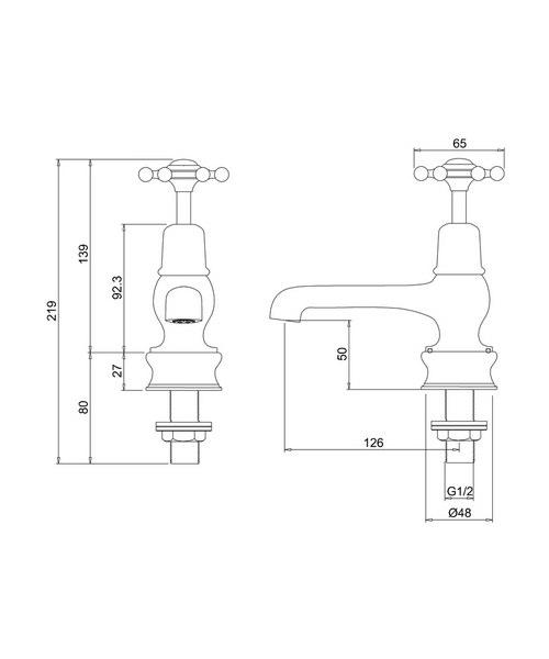 Technical drawing 9782 / BIR2