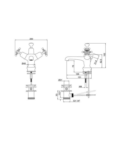 Technical drawing 9785 / BIR4