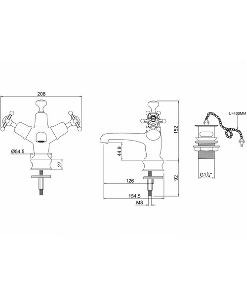 Technical drawing 9786 / BIR5