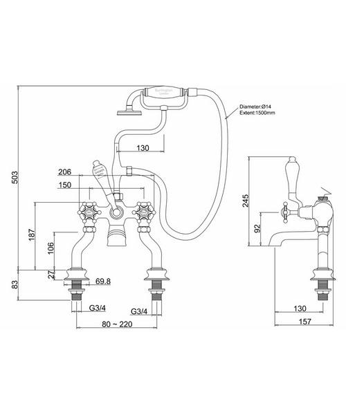 Technical drawing 9790 / BIR15