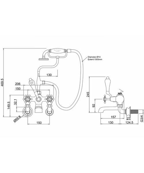 Technical drawing 9792 / BIR17