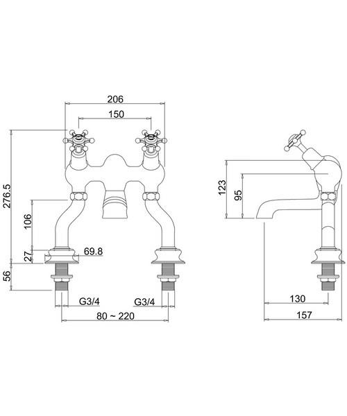 Technical drawing 9793 / BIR25