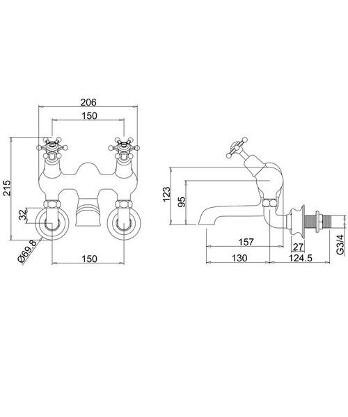 Technical drawing 9795 / BIR26