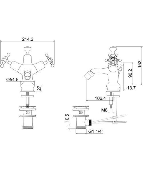 Technical drawing 9797 / BIR13
