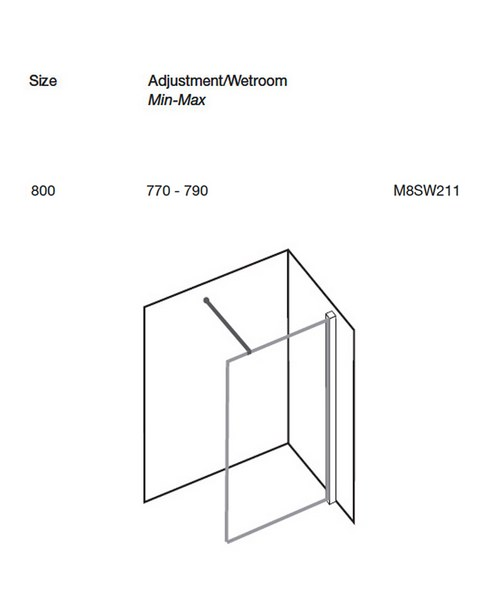 Technical drawing 9920 / M8SW211